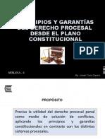 Semana 4- Principios y garantías del derecho procesal  desde el plano constitucional.pptx