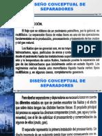 CAP II DISEÑO DE SEPARADORES.ppt