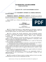 Regimento Interno - Camara Municipal de Mogi Mirim
