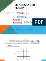 Matematicas   LA POTENCIA