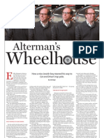 Alterman's Wheelhouse