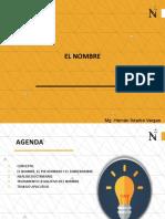 SEMANA 6. EL NOMBRE.pptx