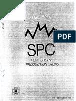 SPC for Short Production Runs
