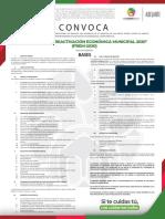Programa de Reactivación Económica Municipal 2020
