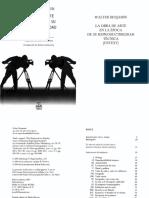 01 Benjamin Walter la obra de arte en la epoca de su reproductibilidad tecnica.pdf