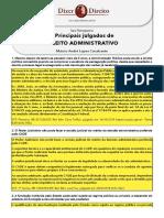 Principais julgados de Direito Administrativo 2019