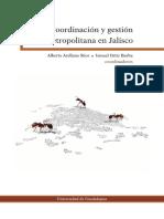 Arellano, Alberto - Coordinación y gestión metropolitana en Jalisco