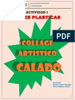 EL COLLAGE ARTISTICO CALADO