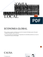 economia global vs economia local