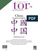 Revista ISTOR. China la gran incógnita. AÑO XX, NÚMERO 78, OTOÑO DE 2019