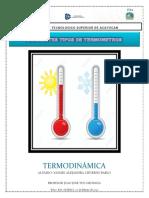 DIFERENTES TIPOS DE TERMOMETRO