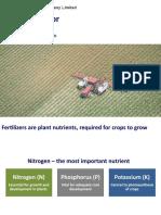 Fertilizer Sector Update
