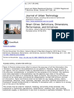 journal urban technologies