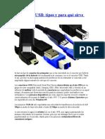Conectores USB -tipos y para qué sirve cada uno.docx