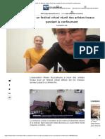 Lille_ un festival virtuel réunit des artistes locaux pendant le confinement