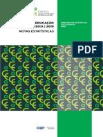 Notas Estatísticas - Censo da Educação Básica 2019.pdf