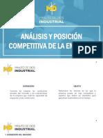 Análisis y posición competitiva de la empresa