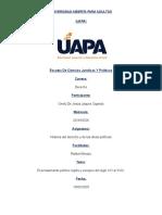 ONELY JAQUEZ - TAREA 10 HISTORIA DEL DERECHO Y DE LAS IDEAS POLITICAS