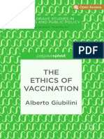 books The Ethics of Vaccination-Springer International Publishing,Palgrave Pivot (2019)
