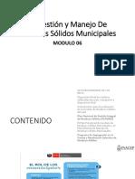 MODULO 06 La gestion y manejo de los Residuos Solidos Municipales.pdf