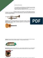 Clasificación de Los Instrumentos Musicales 8º