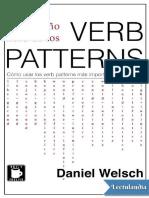 El pequeno libro de los verb patterns