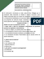 CUADERNILLO DE TRILOGIA