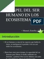 El Papel Del Ser Humano en Los Ecosistemas