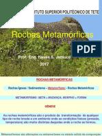 Rochas Metamorficas e Estruturas geologicas