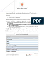 Instrumento de Evaluación 7 - Plan de capacitación Ejecutar