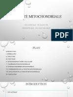 toxicité mitochondriale.pptx