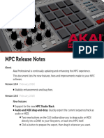 MPC Software [v1.9] Release Notes