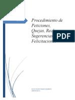 Procedimiento PQRSF