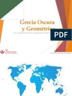 Grecia Oscura y Geométrica 2020-1
