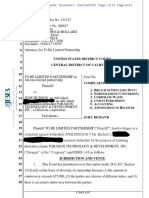 Iwantclips Embezzlement to BE LIMITED PARTNERSHIP v Jude Hudson