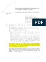Alcances del debido procedimiento administrativo - HUAPAYA TAPIA