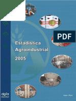 2005- Anuario Estadística Agroindustrial