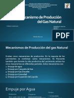 Mecanismo de Producción Gas Natural