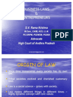 Business Laws, Taxation and Company Law
