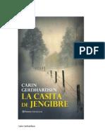 La casita de jengibre - Carin Gerhardsen
