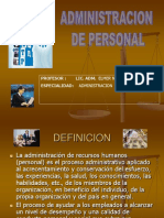 Adm de Personal II