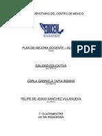 INSTITUTO UNIVERSITARIO DEL CENTRO DE MEXICO