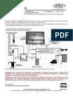 Instalação em veículos com injeção eletrônica e gás com acesso à bobina de ignição