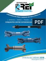 Catalogo de cardans Rei Auto Parts 2018