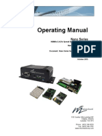 N920 Nano Series.Operating Manual.v3.01