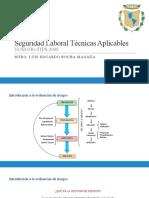 Evaluación de riesgos NOM-030-STPS. Seguridad laboral tecnicas aplicables