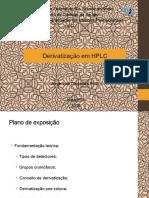 Derivatização em HPLC