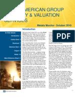 Metals Monitor October 2010