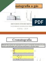 cromatografia a gás-aula docência assitida