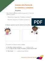 Guía de enseñanza matemáticas grado tercero